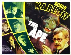 The Ape 1940 DVD - Boris Karloff